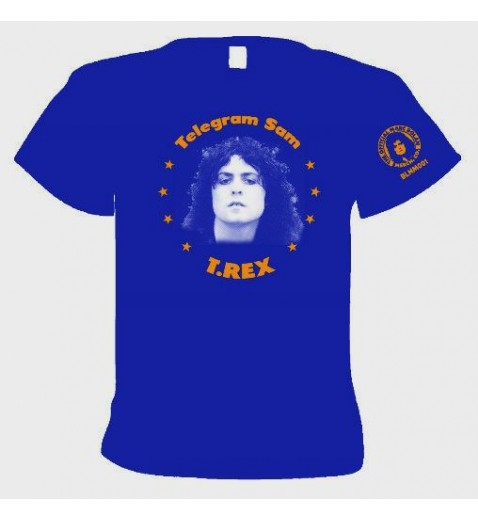 T Shirt    Telegram Sam     1972  T REX                              **OFFICIAL MERCHANDISE**