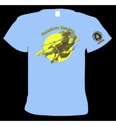 T Shirt               Futuristic Dragon  1976                          Tour Shirt  with   tour dates