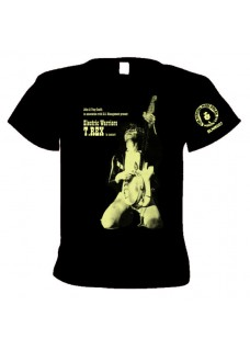 T.Rex  1971        The Warrior Tour                                2 sided print   T shirt    with tour dates