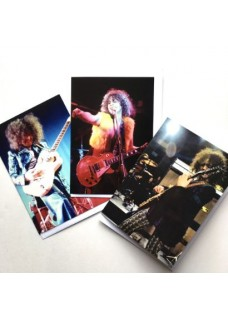 a    Marc Bolan  Deluxe Greetings cards   x3