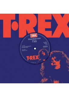 "T.REX   Telegram SAM  alt version 1971  / Baby Strange    Blue vinyl 7"" single in House bag"