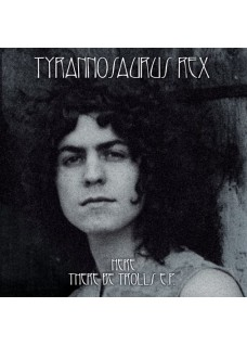"Tyrannosaurus Rex  Here, there be trolls   Limited pressing grey vinyl 7"" e.p"