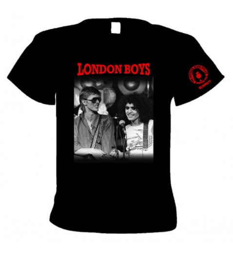 T Shirt         London Boys         Marc with David