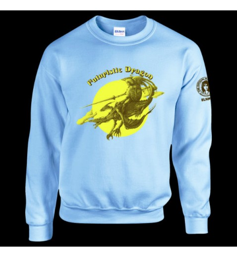Sweatshirt      Futuristic Dragon