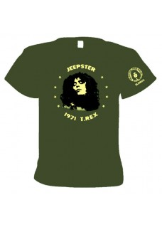 T Shirt          Jeepster  1971         T.REX                  **Official Marc Bolan Merch Co. **