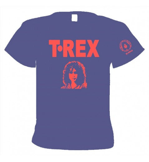 "T Shirt     T. Rex               7"" Single bag Design                             - OFFICIAL MARC BOLAN MERC"