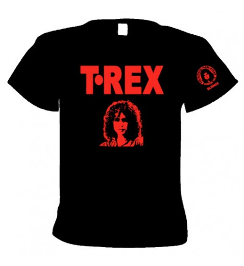 "T. Rex                7"" Single bag Design                                  T Shirt - OFFICIAL MARC BOLAN MERCH"