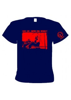 T Shirt        T.Rex Live  at  Wembley Empire Pool    #2                           BLUE      2-Sided T shirt